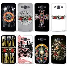 Hot sale  guns n roses Clear Case Cover Coque Shell for Samsung Galaxy J1 J2 J3 J5 J7 2016 2017 Emerge