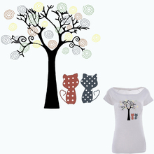Iron On Patches For Clothes T-shirt Dresses Appliques 21*20cm A-level Washable Flower Tree Patch Ironing Stickers