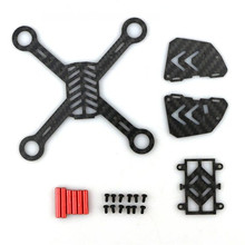 2016 Hot New Eachine Tiny QX100 Micro FPV Racing Quadcopter Spare Parts Carbon Fiber DIY Frame Kit