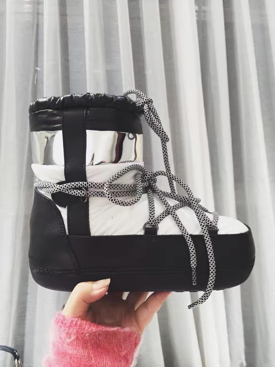 2016 Winter Snow Botte Waterproof Keep Warm Boots Plush Ankle Botte Laarzen Platte Hak Lady Dress Boots High Women <br><br>Aliexpress