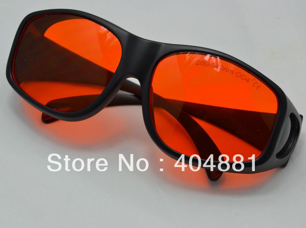 200-540nm laser safety glasses/laser safety eyewear/laser safety goggle/ O.D 4+ CE certified<br>