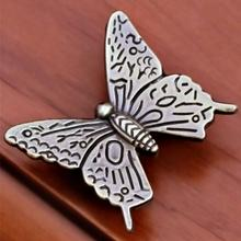 10pcs Alloy VintageHandle Pull Knob Butterfly Furniture Jewelry Chest Dresser Cabinet Drawer Handle Home Decoration
