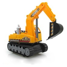 High Quality Large Excavator Engineering Car Model Toy Child Toy Car Car-styling Inertial Car Truck Gift Toys j2(China)