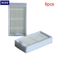 Buy NTNT 6 Pcs / Lot White Hepa Filter Panda X500 ECOVACS X500 X600 CR120 Vacuum Cleaner parts replacement Free New for $7.19 in AliExpress store
