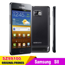Limited Rushed Unlocked  samsung GALAXY S2 SII I9100 Android 2.3 Wi-Fi GPS 8.0MP camera Core 4.3''cell phone