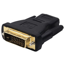 HDMI Cable Desktop 1000pcs/lot DVI 24+1 Male to HDMI 19Pin Female M-F Adapter Converter for HDTV(China)