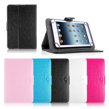 "Universal PU Leather Stand Case Cover For Prestigio MultiPad Wize 3037 3G PMT3037 7""Inch Tablet PC PAD for kids Y2C43D"