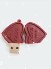 USB Flash Drive Cartoon Love Sweet Chocolate Flash Drive 4GB 8GB 16GB 32GB 64GB USB 2.0 Flash Memory Stick Flash Drive Pendrive