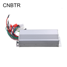 CNBTR Slivery Aluminium 48V 800W Electrocar Brushless Electric Motor Controller Electric Bike Controller for Electric Scooters(China)