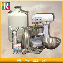 Hot Sale Liquid nitrogen cooling ice cream making machine/ice cream roll maker/hard ice cream maker(China)