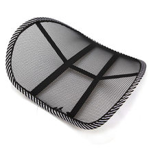 Back Lumbar Support Mesh Ventilate Cushion Cool Car Office Truck Chair Seat Back Lumber Support Vent Massage Cushion Mesh(China)