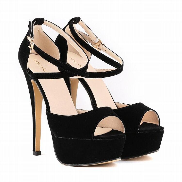Size 35-42 WomenS New High Heel Sandals Gladiator Fashion Lady Sexy Platform Sandals Heels Summer Shoes Sandals SMYNLK-C0001<br><br>Aliexpress