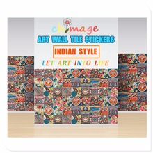 Indian style Self Adhesive Tile Art Wall Decal Sticker DIY Kitchen Bathroom Home Decor Vinyl