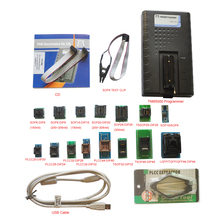 2017 New TNM5000 USB Atmel EPROM Programmer+15pc adapters+IC Clip for NAND flash/EPROM/MCU/PLD/FPGA/ISP/JTAG,memory recorder(China)