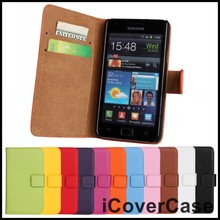 For Samsung Galaxy S2 i9100 Case Cover Capa i9100G Coque Wallet S II 4G I9100M Leather Phone Cases for Samsung i9100 Galaxy S II