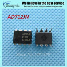 10PCS free shipping AD712JN AD712 AD712JNZ DIP-8 Precision Amplifiers PREC HIGH Spd DUAL BIFET new original(China)
