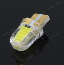 1Pcs Best Price T10 W5W COB 8 Chips Car Led Wedge Light 12V Side Interior Lamp Reverse License Plate Turn Signal Bulb Waterproof