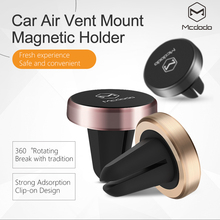 Mcdodo Universal Car Holder Magnetic Air Vent Mount phone holder Dock for iPhone Samsung Google Pixel Mobile Phone Holder Stand(China)