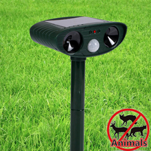 Solar Power Mosquito Repellent Ultra Sonic Anti Mosquito Bee Rats Mice Bird Dog Cat Pest Repeller Animal Trap Insect Killer