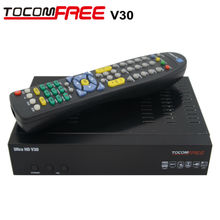 TOCOMFREE Ultra HD1080P v30 FTA Satellite Receiver with diseqc 4*1 + HDMI + WIFI + JB200 For Canada and All North America