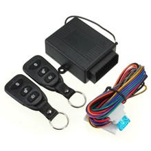 Hot Sale Keyless Entry System Universal Car Kit Remote Control Central Lock+ 2 Remote Controllers + User Manual +Wire
