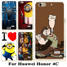 TAOYUNXI Soft TPU Hard plastic Cell Phone Case For Huawei G Play Mini Honor4c C8818 Case Cover Shell Hard Plastic Phone Cover(China)