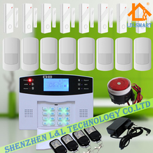106 Zones Wired Wireless GSM Home Burglar Security Fire Alarm System Auto Dialer