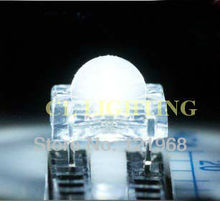 High flux led 5mm cool white 6000-6500K piranha led diode 200pcs free shipping(CE&Rosh)