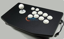 Arcade stick with 8 actuation buttons/rocker street fighter computer arcade joystick game controller for USB,PC,PS2,PS3 consoler