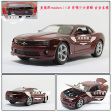 MAISTO 1/18 Scale USA  2010 Chevrolet Camaro Diecast Metal Car Model Toy New In Box For Collection/Gift/Kids