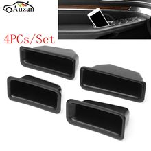 4Pcs Armrest Container Door Storage Box Handle For Ford Explorer 2016 2017