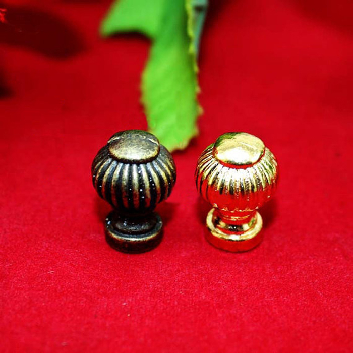 14*19mm Antique Mini Furniture Knobs and Handles Drawer Dresser Shoe Box Wooden Jewelry Box Pull Handle Knob Cabinet Pull<br><br>Aliexpress