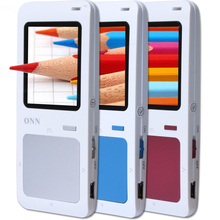 "ONN Q7 Professional  Mp3 Player  8gb/fm/1.8"" TFT Screen/e-book/Voice recorder/max 32gb Tf Card Supported"
