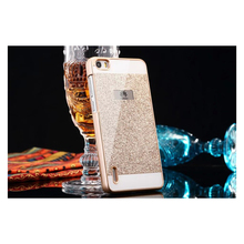 For Huawei P8 Lite Glitter Bling Case For Huawei P9 P9 Lite Luxury Cases Back Cover Hard shell Shinning Sparkling Capa Coque