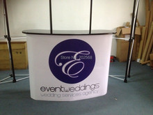 Portable Pop Up Promotion Counter For Advertising FREE Print & Ship