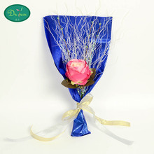 10pcs Manufacturers selling the Qixi Festival valentine rose creative gift simulation rose 9.99 yuan a wedding on behalf of