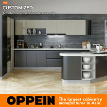 Factory New Design Modular Lacquer Custom Kitchen Remodeling OP15-L10(China)