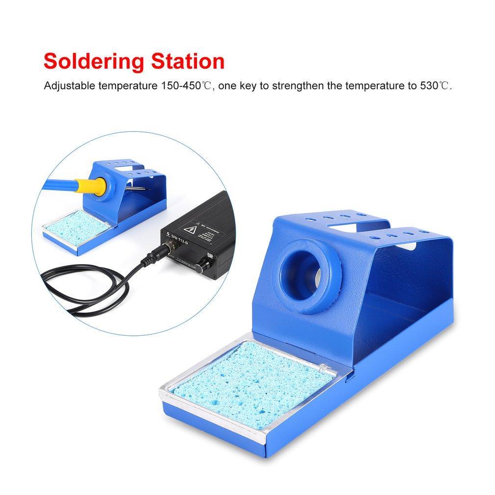 Rework Fer à Souder Station de Soudure Dessouder ESD LED Soudage DHL 60W 937D