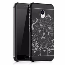 3D Dragon Style Luxury Soft Silicon TPU Phone Casse for Meizu MX6 MX5 M5 Full Protective Shockproof Cover for M5S U10 E2 U20(China)