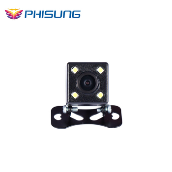 Rear camera with 6 meters cable kits special for Phisung dual lens Mirror car camera