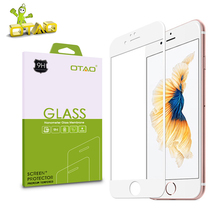 OTAO Full Cover Tempered Glass Screen Protector Film For Apple iPhone 5 5S 5C SE 2.5D 4 inch 0.33mm 9H Anti-Scratch With Package