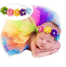 Flower color children headband ribbon pearl rainbow section hair with headdress(China)