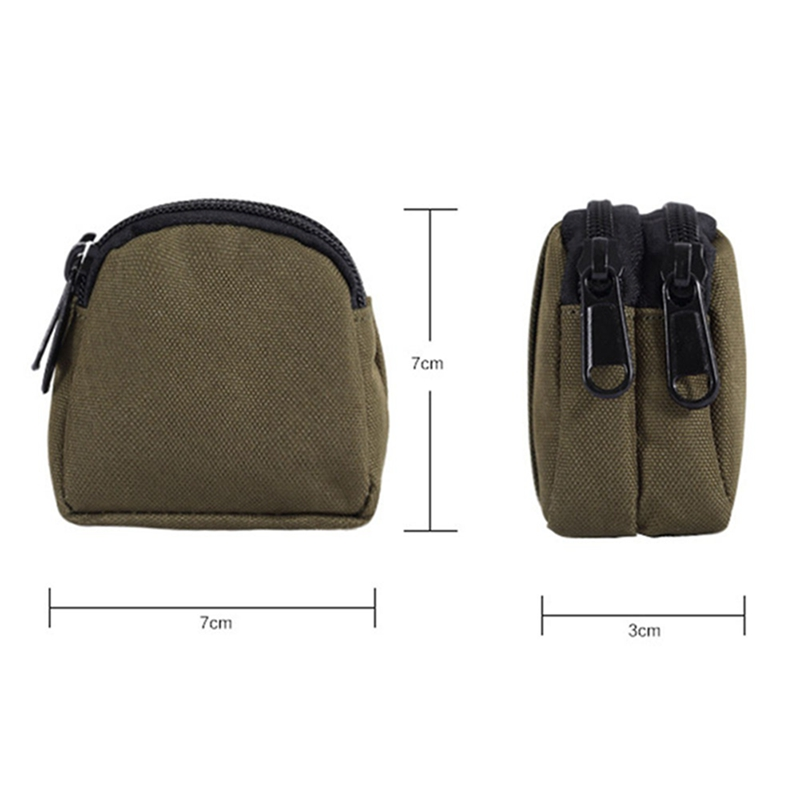 Molle Pouch Camping Military EDC Waist Bag Functional Belt Bag Key Coin Holder