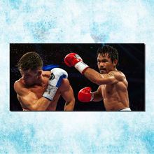 Manny Pacquiao Super Boxer Star Art Silk Canvas Poster 20x40 24x48inch Boxing Sport Pictures For Living Room Decor (more)-5(China)
