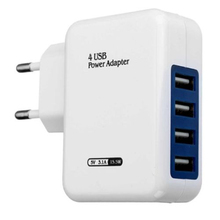 US UK EU 4 Port Travel Adapter for Apple iPad iPhone X 8 7 6s Plus 6 5 SE Samsung Galaxy S8 Note 8 All Phone(China)