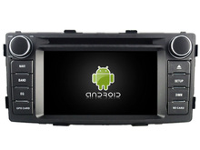 FOR TOYOTA HILUX 2012 Android 7.1 Car DVD player gps audio multimedia auto stereo support DVR WIFI DSP DAB OBD(China)
