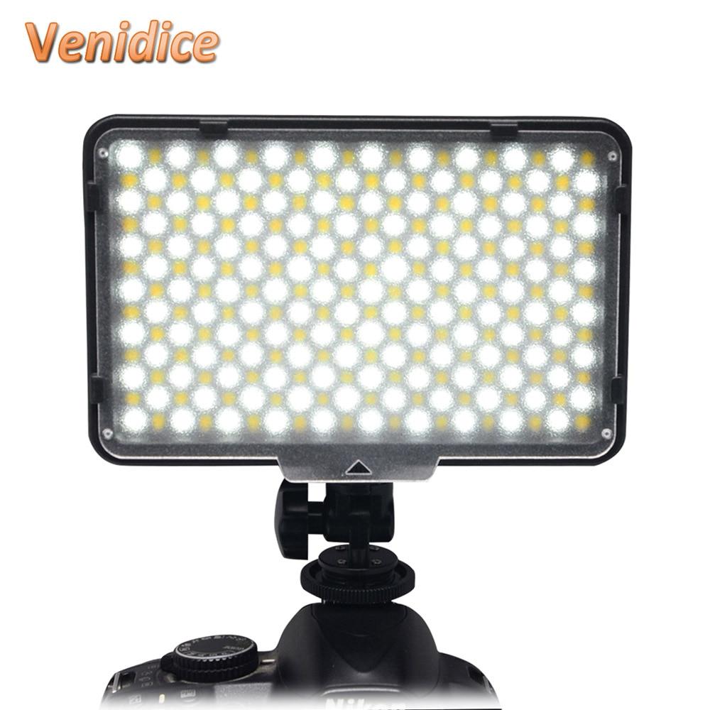 Mcoplus MCO-322B LED Video Light Bi-Color Temperature Adjust 3200K-7500K for Camcorder &amp; Digital SLR Camera<br><br>Aliexpress