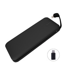 Buy Nohon Portable Power Bank, 8000mAh Built-in adapter Lightning External Battery iPhone X iPhone 7/ 7s Plus iPhone 8 for $29.99 in AliExpress store