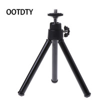 Buy OOTDTY Camera Stand Tripod Universal Mini Portable Tripod Holder Stand Canon Nikon Camera Camcorder New for $1.13 in AliExpress store