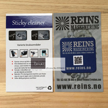500pcs 40x33mm Screen Cleaner Sticker /Screen Wiper+ Custom Your Own Logo + Free Shipping by Fedex Express(China)